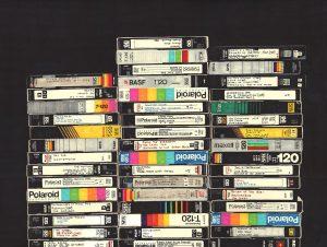 videobanden-stapels